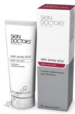 Skin Doctors Vein Away Plus многофункциональное средство для тела от поврежденных капилляров и сосудистых звездочек 100 мл Skin Doctors
