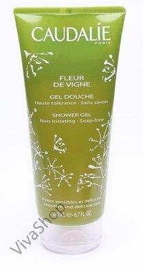 Caudalie Shower Gel Fleur de Vigne Гель для душа и ванны Цветок Винограда (без мыла) 200 мл Caudalie