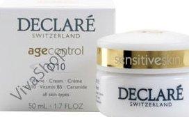 Declare Age Control Q10 Cream Антивозрастной крем для лица +Q10 +Витамин В5 +Керамиды 50 мл Declare