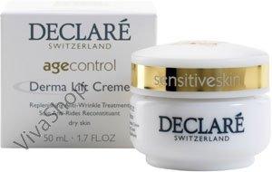 Declare Age Control Derma Lift Cream Лифтинговый питательный крем для лица против морщин 50 мл Declare