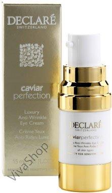 Declare Caviar Perfection Luxury Anti-Wrinkle Eye Cream Востанавливающий крем против морщин для кожи вокруг глаз 15 мл Declare