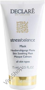 Declare Stress Balance Skin Smoothing Mask Расслабляющая антистрессовая маска для лица с маслом Авокадо и экстрактом Ромашки 75 мл Declare