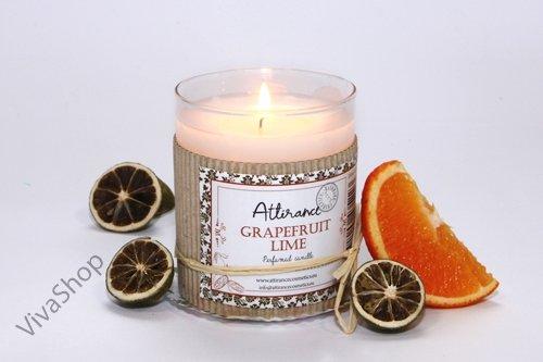 Attirance Ароматическая свеча в стакане Грейпфрут Attirance