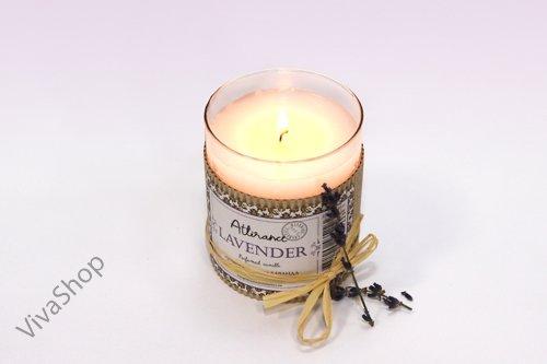 Attirance Ароматическая свеча в стакане Лаванда Attirance