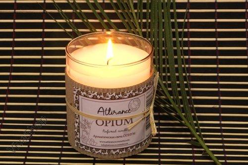 Attirance Ароматическая свеча в стакане Опиум Attirance