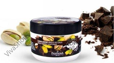 Sweet Secret Крем для тела аромат горького шоколада с тонким оттенком фисташковых орехов 225 мл Farmona