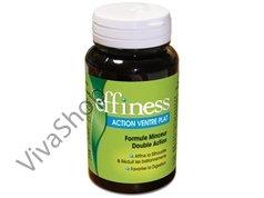 Effiness Action ventre plat Эффинесс Плоский живот Формула для похудения двойного действия 63 caps Laboratoires INELDEA (Лаб. Инельдиа)