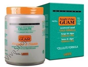"GUAM Fanghi d`Alga Formula a Freddo ГУАМ Антицеллюлитная маска из морских водорослей ""холодная формула"" 500 g GUAM"
