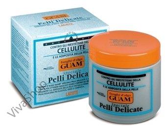 """GUAM Fanghi d`Alga Pelli Delicate ГУАМ Антицеллюлитная маска из морских водорослей """"деликатная формула"""" 500 g GUAM"""