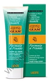"GUAM Crema Gel ai Fanghi d`Alga a Freddo ГУАМ Подтягивающий антицеллюлитный гель ""холодная формула"" 250 ml GUAM"