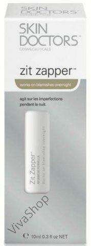 Skin Doctors Zit Zapper Антибактериальный карандаш для проблемной кожи с салициловой и гликолевой кислотами 10 мл Skin Doctors