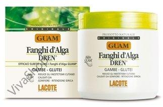 GUAM Fanghi d`Alga DREN Грязевая маска из морских водорослей с дренажным эффектом 500 гр GUAM