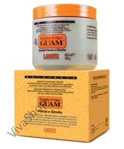 GUAM Fanghi d`Alga Pancia e Girovita Грязевая маска из морских водорослей GUAM для живота и талии 500 гр GUAM