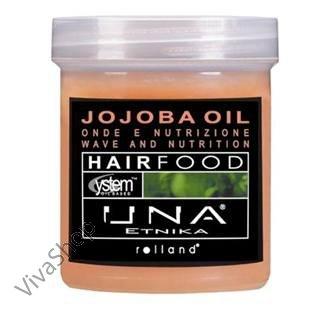 UNA Hair Food Jojoba Масло Жожоба Маска для облегчения расчесывания волос с маслом Жожоба 1000 мл Rolland