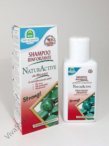 Natura House НатурАктив Шампунь для укрепления волос с малахитом 250 мл Natura House