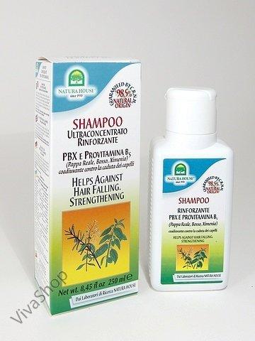 Natura House Шампунь для волос с РВХ и провитамином В5 против выпадения 250 мл Natura House