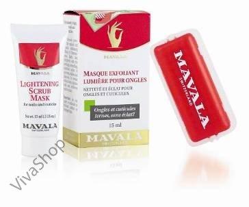 Mavala Осветляющая маска-скраб для ногтей 15 ml Mavala
