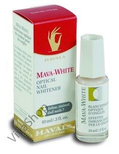 Mavala MavaWhite Оптическое отбеливающее средство для ногтей Мава-Уайт 10 ml Mavala