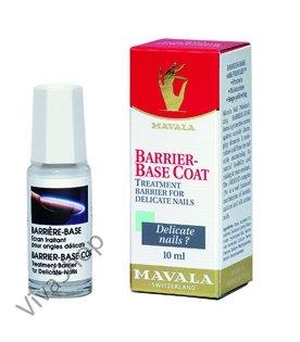 Mavala Barrier-Base Coat Защитное покрытие для слабых и хрупких ногтей 10 ml Mavala