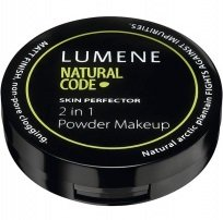 Lumene Natural Code Skin Perfection Powder MakeUP 2 in 1 Натуральная крем-пудра 8 гр