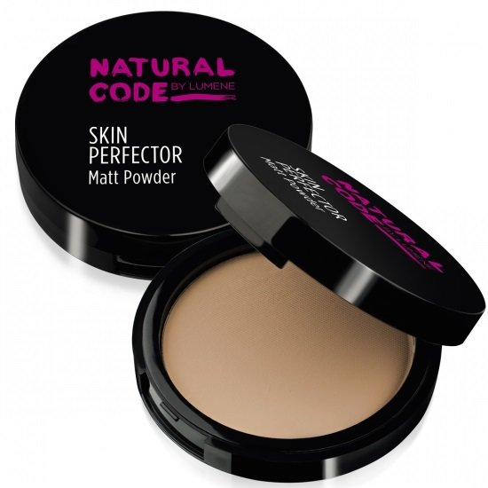 Lumene Natural Code Matt Powder Натуральный матирующая пудра 10 гр